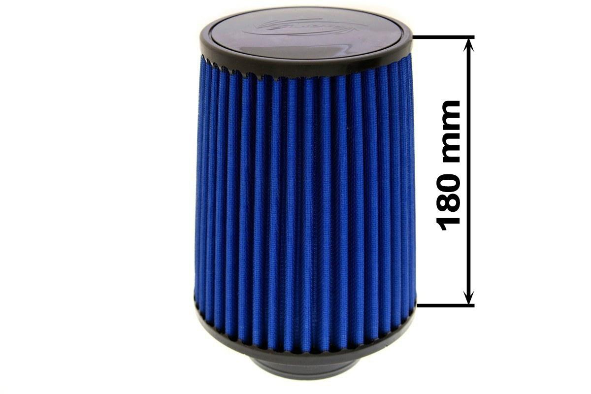 Filtr stożkowy SIMOTA JAU-X02201-11 80-89mm Blue - GRUBYGARAGE - Sklep Tuningowy